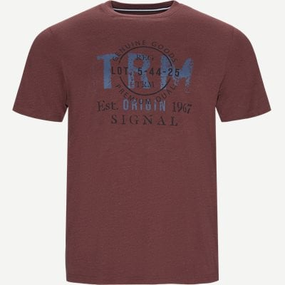 Regular | T-shirts | Bordeaux